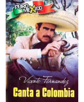 Vicente Fernández le canta a Colombia
