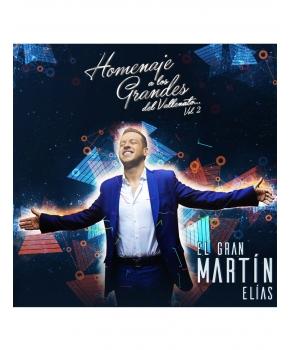 El Gran Martín Elías - Homenaje A Los Grandes Del Vallenato Vol. 2