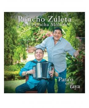 Poncho Zuleta y El Cocha Molina - Para'o En La Raya
