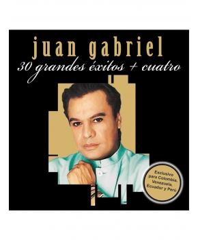 Juan Gabriel - Colección 30 Grandes Éxitos + Cuatro