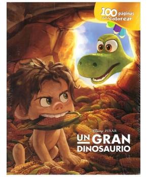 Un Gran Dinosaurio 100 Páginas para colorear