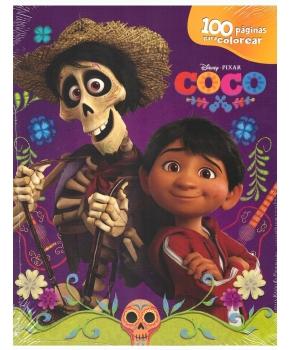 Disney Pixar Coco 100 Páginas Para Colorear