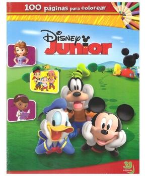 Disney Junior - 100 Páginas Para Colorear