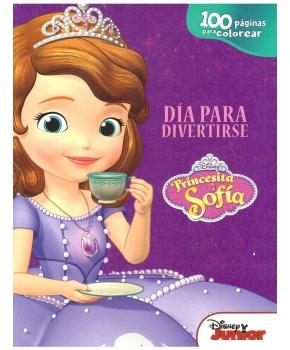 Princesita Sofia - Día para Divertirse -100 Páginas para colorear