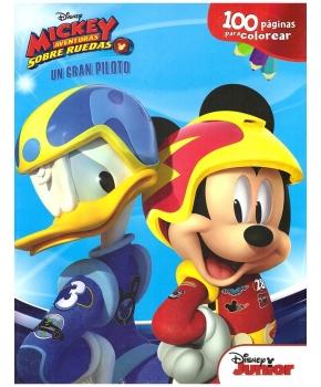 Mickey Aventuras Sobre Ruedas Un Gran Piloto