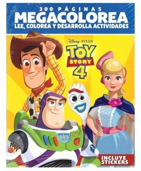 Disney Pixar Toy Story 4 Megacolorea 300 Páginas