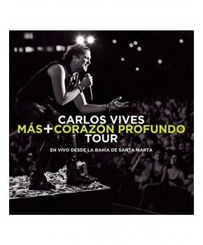 Carlos Vives - Más + Corazón Profundo Tour, En Vivo desde la Bahía de Santa Marta