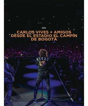 Carlos Vives - Carlos Vives + Amigos Desde El Campín