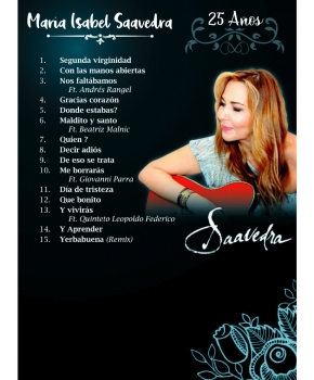 María Isabel Saavedra - 25 Años