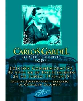 Carlos Gardel - Grandes Éxitos 3 Cd's