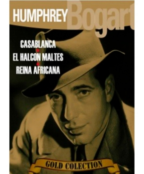 Gold Colection Humphrey Bogart 3 DVD'S