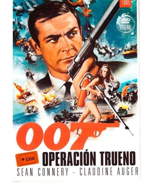 James Bond 007 operación trueno