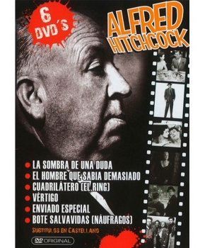 Alfred Hitchcock (DVD x 6)