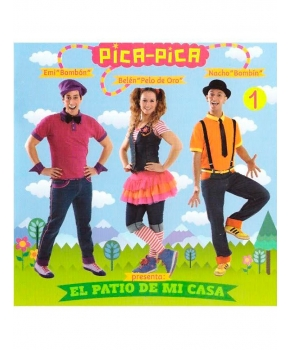 Pica-pica - El patio de mi casa (CD+DVD)